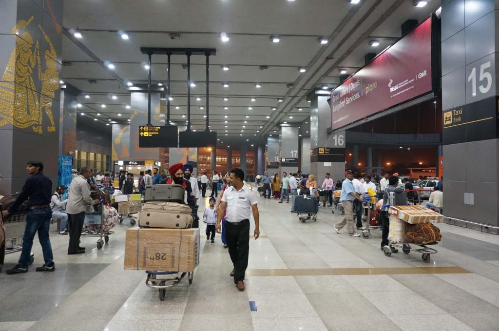 0001 インディラガンディー空港